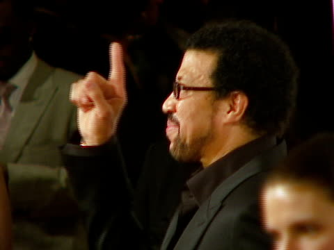 lionel richie at the legendary clive davis pregrammy party at beverly hills california - lionel richie stock videos & royalty-free footage