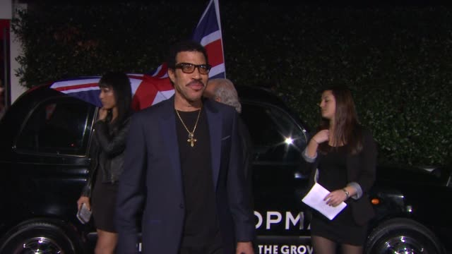 lionel richie at topshop topman opening party at cecconi's on 2/13/2013 in los angeles, ca. - lionel richie stock videos & royalty-free footage