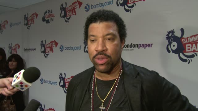 Lionel Richie on the crowd exciting him great atmosphere on performing with Blue it was meant to be a surprise on becoming a granddad again Nicole's...