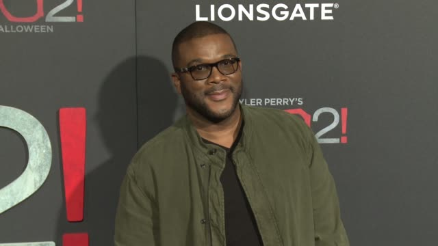 """CHYRON Lionsgate Presents the Los Angeles Premiere of Tyler Perry's """"Boo 2 A Madea Halloween"""" in Los Angeles CA"""