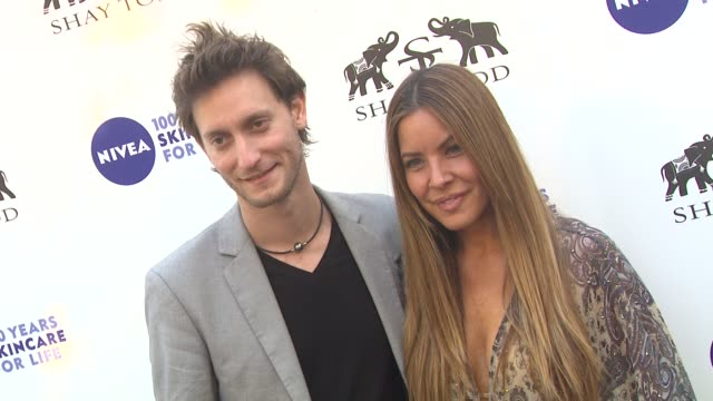 lior suchard shay todd at the khloe kardashian odom reveals results of the 2011 nivea goodbye cellulite hello bikini challenge at los angeles ca - cellulite stock videos & royalty-free footage