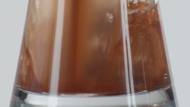 cu slo mo liquid being poured into glass / orem, utah, usa - orem utah stock videos & royalty-free footage