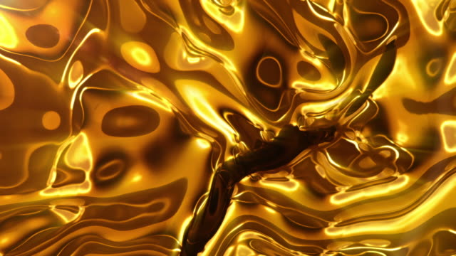 liquid gold - gold coloured stock videos & royalty-free footage