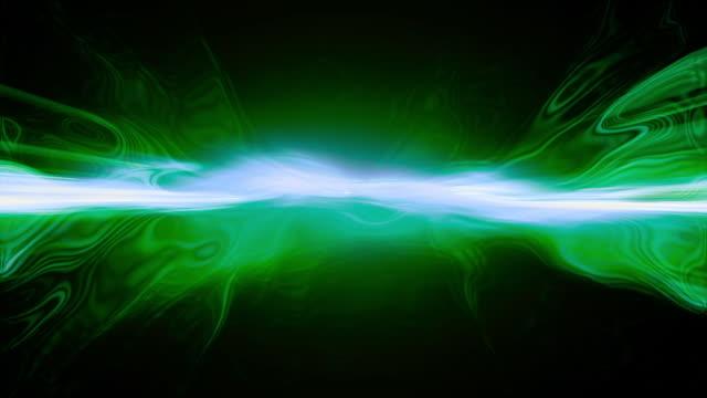Liquid light patterns flow, ripple and shine.
