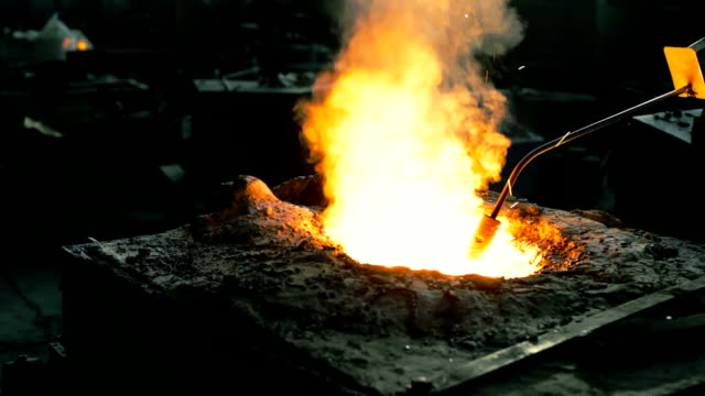 Liquid metal temperature measurement in the foundry