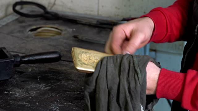 liquid molten steel industry - work tool stock videos & royalty-free footage