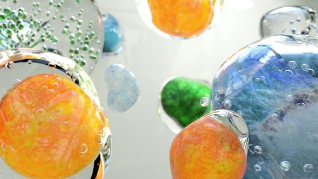 liquid spheres - genetic variation stock videos & royalty-free footage