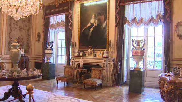 vídeos y material grabado en eventos de stock de liria palace, residence of the house of alba in madrid, opens for the first time to the public today. liria palace is a large 18th century building... - museum