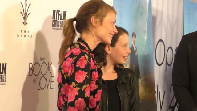 "lisa brenner at the ""the book of love"" los angeles premiere at pacific theatre at the grove on january 10, 2017 in los angeles, california. - the grove los angeles stock videos & royalty-free footage"