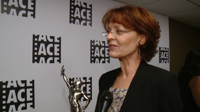 INTERVIEW Lisa Bromwell at 66th Annual ACE Eddie Awards in Los Angeles CA