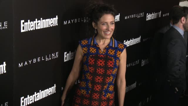 lisa edelstein at 2016 entertainment weekly screen actors guild party at chateau marmont on january 29 2016 in los angeles california - lisa edelstein stock videos and b-roll footage