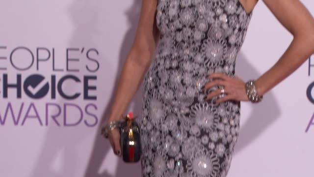 lisa edelstein at people's choice awards 2015 in los angeles ca - lisa edelstein stock videos and b-roll footage