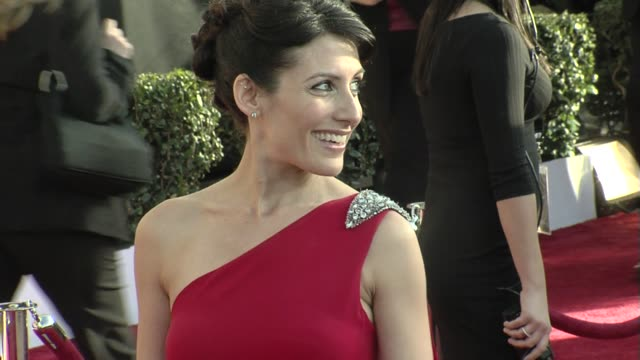 lisa edelstein at the 15th annual screen actors guild awards part 6 at los angeles ca - lisa edelstein stock videos and b-roll footage