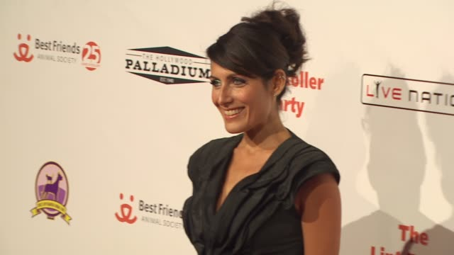 lisa edelstein at the 16th annual lint roller party at hollywood ca - lisa edelstein stock videos and b-roll footage