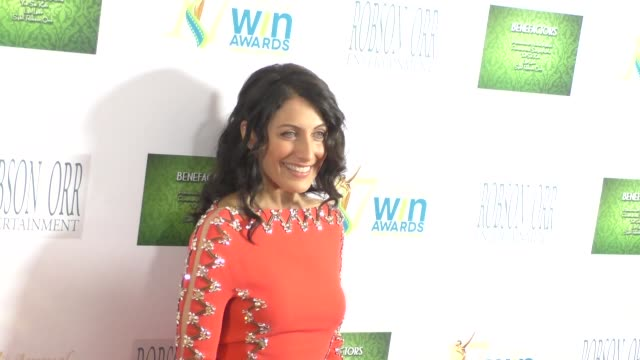lisa edelstein at the 17th annual women's image awards at royce hall in westwood at celebrity sightings in los angeles on february 10 2016 in los... - lisa edelstein stock videos and b-roll footage