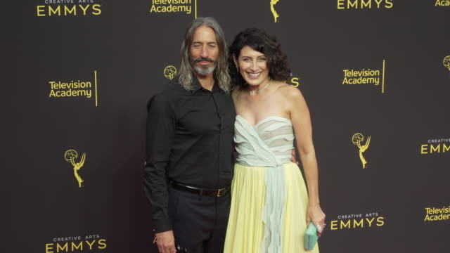 lisa edelstein at the 2019 creative arts emmy awards day 2 at microsoft theater on september 15 2019 in los angeles california - lisa edelstein stock videos and b-roll footage