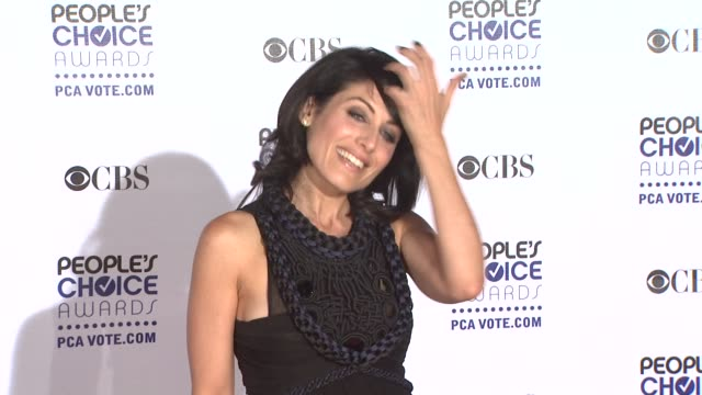 lisa edelstein at the 35th annual people's choice awards at los angeles ca - lisa edelstein stock videos and b-roll footage