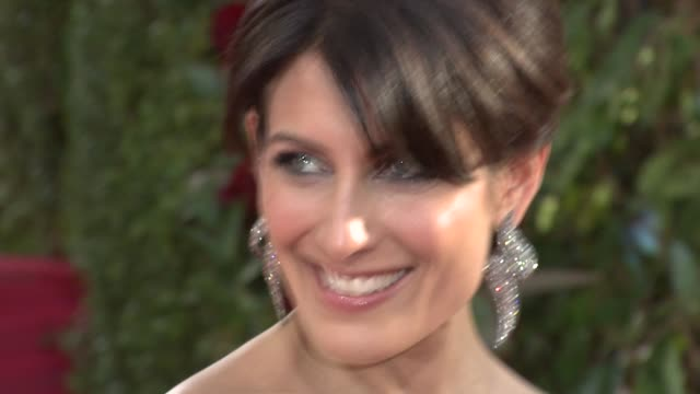 lisa edelstein at the 66th annual golden globe awards arrivals part 3 at los angeles ca - lisa edelstein stock videos and b-roll footage