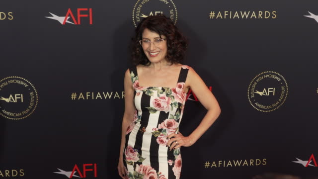 lisa edelstein at the afi awards 2018 at four seasons hotel los angeles at beverly hills on january 04 2019 in beverly hills california - lisa edelstein stock videos and b-roll footage