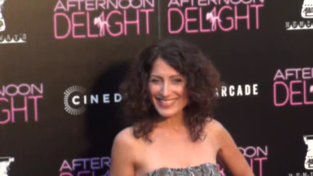 lisa edelstein at the afternoon delight premiere at arclight theatre in hollywood at celebrity sightings in los angeles lisa edelstein at the... - lisa edelstein stock videos and b-roll footage