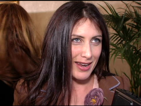 lisa edelstein at the diamonds in the rough presented by instyle and dic present at the beverly hilton in beverly hills california on january 13 2005 - lisa edelstein stock videos and b-roll footage