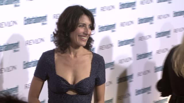 lisa edelstein at the entertainment weekly 6th annual pre-emmy party at los angeles ca. - エンターテインメント・ウィークリー点の映像素材/bロール