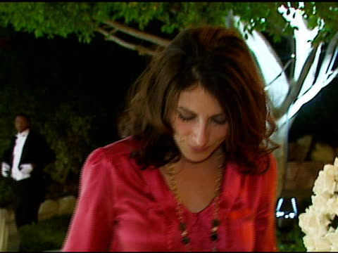 lisa edelstein at the handm launch viktor and rolf collection party at private residence in belair california on october 28 2006 - lisa edelstein stock videos and b-roll footage