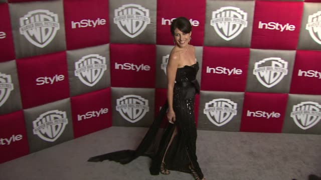 lisa edelstein at the instyle 2009 golden globes after party part 2 at los angeles ca - lisa edelstein stock videos and b-roll footage