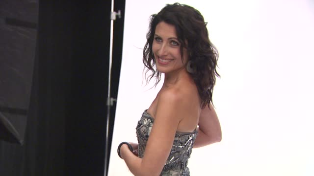 lisa edelstein at the people's choice awards photo booth at los angeles ca - lisa edelstein stock videos and b-roll footage