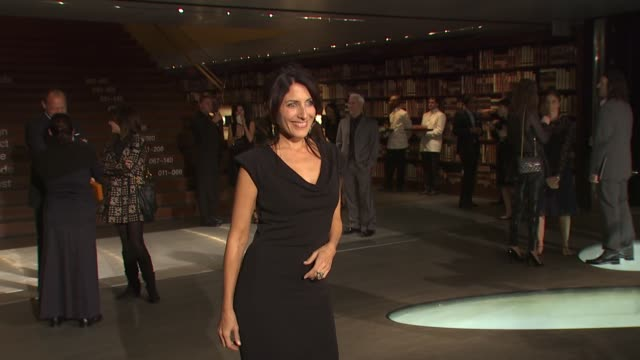 lisa edelstein at the prada book launch at beverly hills ca - lisa edelstein stock videos and b-roll footage