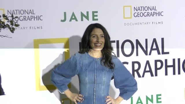 lisa edelstein at the premiere of national geographic documentary films' 'jane' at the hollywood bowl on october 09 2017 in los angeles california - lisa edelstein stock videos and b-roll footage