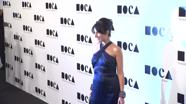 lisa edelstein at the the museum of contemporary art los angeles presents the annual moca gala at los angeles ca - los angeles museum of contemporary art stock videos and b-roll footage