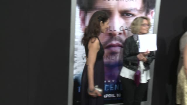 """lisa edelstein at the """"transcendence"""" los angeles premiere at regency village theatre on april 10, 2014 in westwood, california. - regency village theater stock videos & royalty-free footage"""