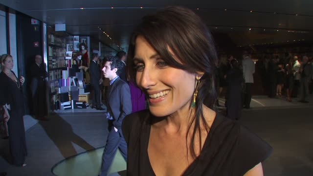 lisa edelstein on what she's wearing and why why she wanted to be a part of the night the first item of prada she owned her holiday plans at the... - lisa edelstein stock videos and b-roll footage