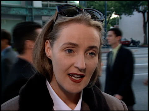 Lisa Gerrard at the 'Gladiator' Premiere at Academy Theater in Beverly Hills California on May 1 2000