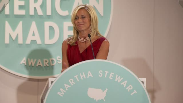 lisa gersh pays tribute to america at martha stewart transforms grand central terminal into multimedia celebration of american artists, artisans and... - martha stewart stock videos & royalty-free footage