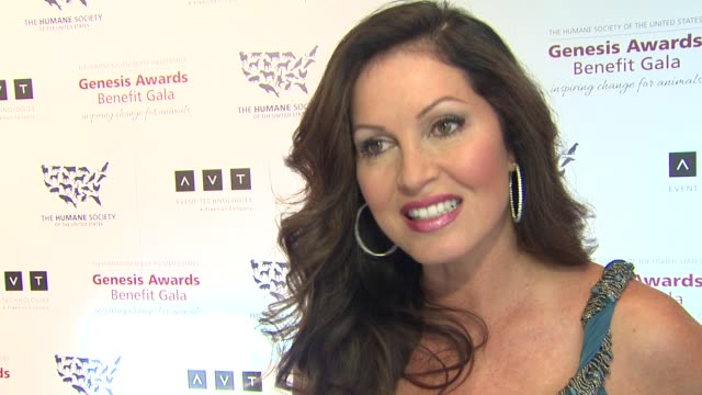 INTERVIEW Lisa Guerrero on the event being nominated at 2013 Genesis Awards Benefit Gala Presented By The Humane Society Of The United States on...
