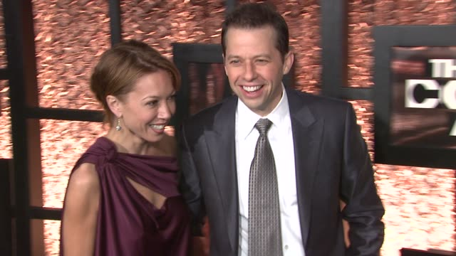 lisa joyner and jon cryer at the the first annual comedy awards arrivals at new york ny - lisa joyner stock videos and b-roll footage