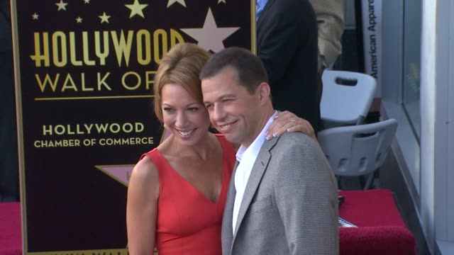 lisa joyner jon cryer at the jon cryer honored with star on the hollywood walk of fame at hollywood ca - lisa joyner stock videos and b-roll footage