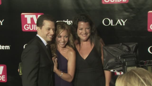 lisa joyner jon cryer at the tv guide 6th annual emmy party at los angeles ca - lisa joyner stock videos and b-roll footage