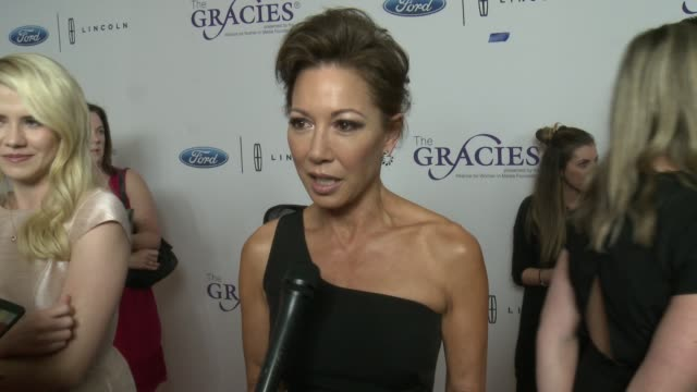interview lisa joyner on hosting the gracie awards on how things have changed in the business for women especially in the past year at the 43rd... - lisa joyner stock videos and b-roll footage