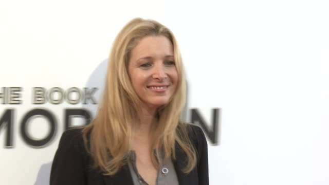 lisa kudrow at the book of mormon los angeles opening night on 9/12/12 in los angeles ca - mormonism stock videos & royalty-free footage