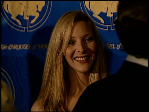 lisa kudrow at the carousel of hope ball at the beverly hilton in beverly hills california on october 28 2000 - carousel of hope stock videos and b-roll footage
