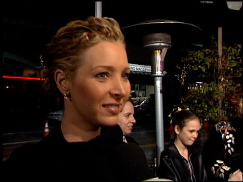 lisa kudrow at the 'hanging up' premiere on february 16 2000 - hanging up stock videos and b-roll footage