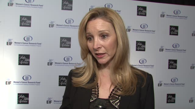 lisa kudrow on being a part of the night the work that eif's women's cancer research fund does gwyneth paltrow courteney coxarquette's dedication to... - gwyneth paltrow stock videos and b-roll footage