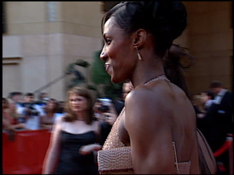 lisa leslie at the espy awards at the kodak theatre in hollywood, california on july 10, 2002. - espy awards stock videos & royalty-free footage