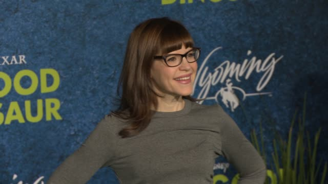 lisa loeb at the good dinosaur world premiere at the el capitan theatre on november 17 2015 in hollywood california - el capitan theatre stock videos and b-roll footage