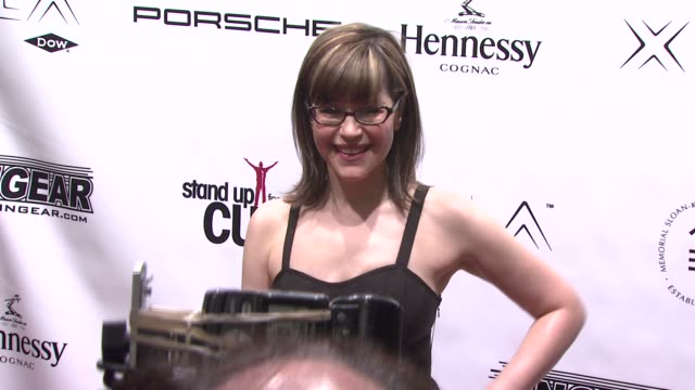 lisa loeb at the stand up for a cure a concert to benefit memorial sloankettering cancer center at the hammerstein ballroom in new york new york on... - benefit concert stock videos and b-roll footage