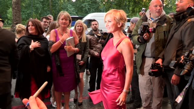 lisa maxwell at the tv choice awards at dorchester hotel on september 09 2013 in london england - lisa maxwell stock videos and b-roll footage