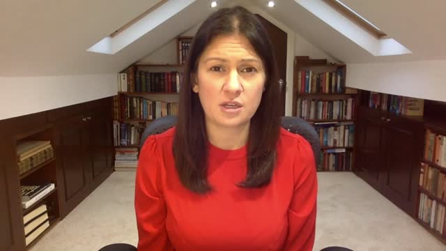 lisa nandy interview; england: int lisa nandy mp interview via internet sot . - on covid-19 coronavirus pandemic and vaccinations, china and... - genocide stock videos & royalty-free footage